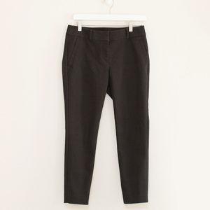 LOFT Black Julie Skinny Ankle Pants 4P